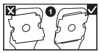 Como colocar la hoja cortacallos beter