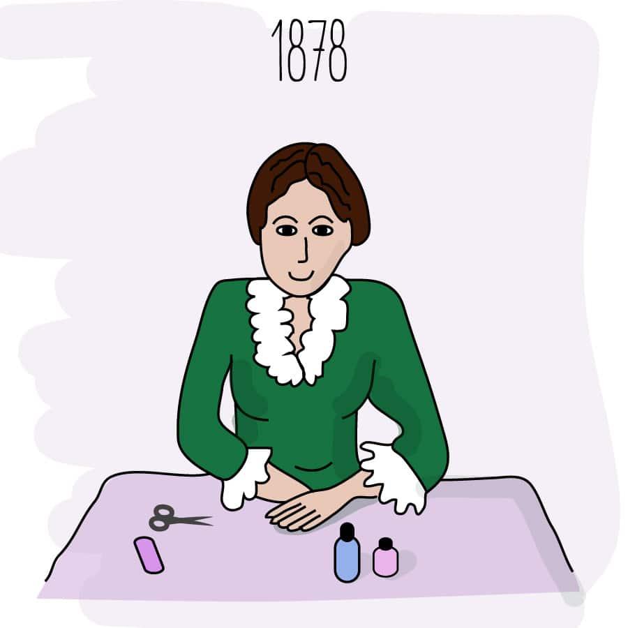 Historia de la manicura - Beter. accesorios y cosméticos para la belleza