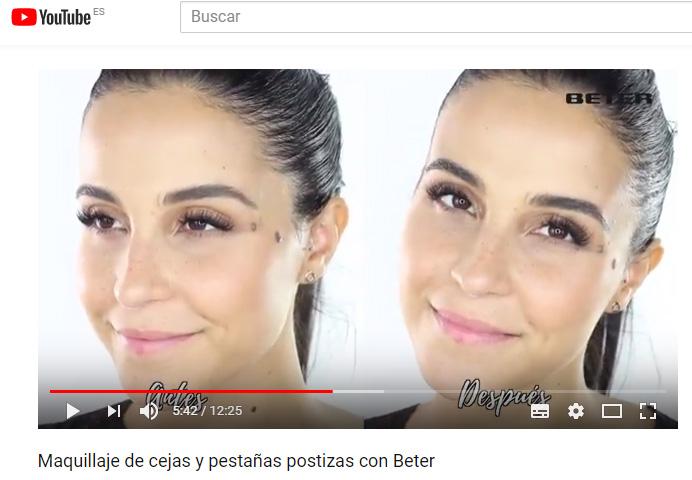 Tutorial de maquillaje de cejas y pestañas postizas, descubre Beter Brow & Lashes