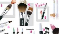 Los 10 pasos del maquillaje con los mejores accesorios de belleza
