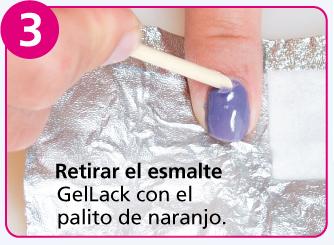 Cómo Quitar Gellack Esmalte Permanente Con Gellack Remover