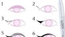 """Delineado """"ojos de gata"""" Cómo aplicar eyeliner de manera fácil"""